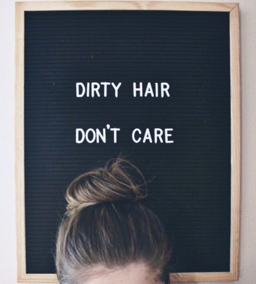 tips and tricks to wash hair less dirty hair tips