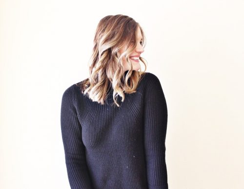 how i stopped washing my hair every day black BP sweater