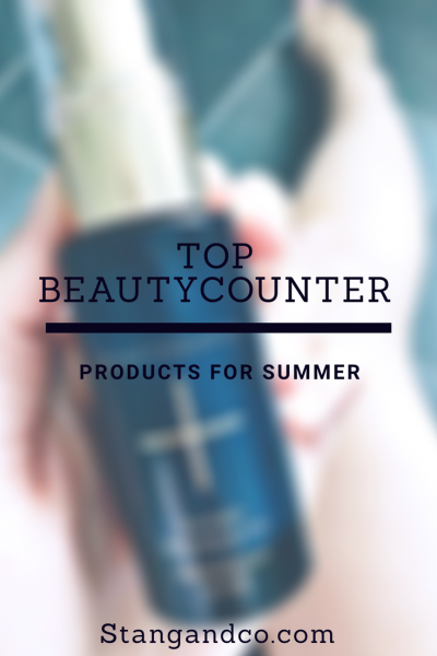 Five Beautycounter products for summer