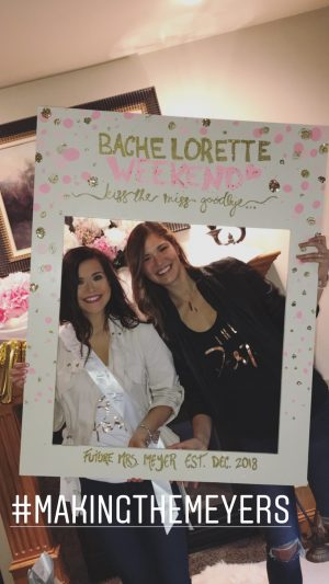 bachelorette photobooth frame bachelorette cutout photobooth frame prop. Pink and gold wooden photo frame bridal shower bachelorette party
