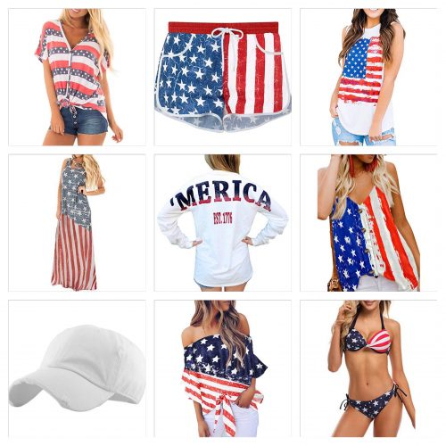 american flag apparel from amazon