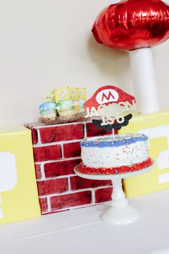 mario brothers birthday party