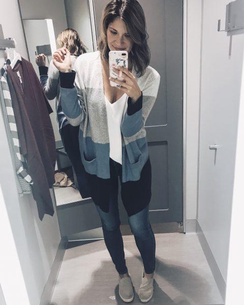 colorblock cardigan designer dupe