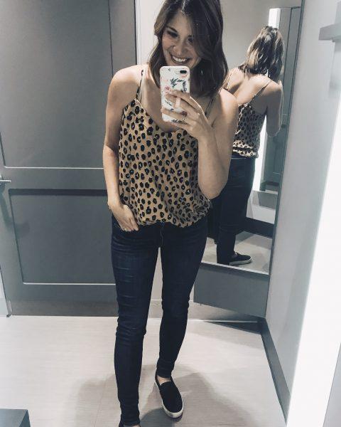 cheetah print camisole under $20