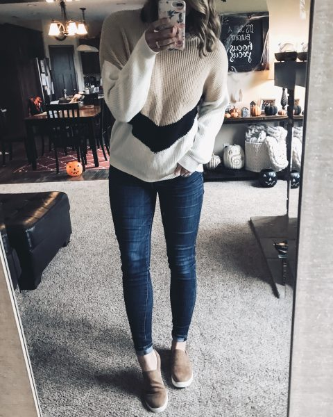 neutral-colorblock-sweater-from-amazon
