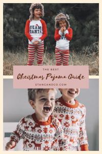 team santa christmas pajamas dear deer pajamas holiday pajama guide