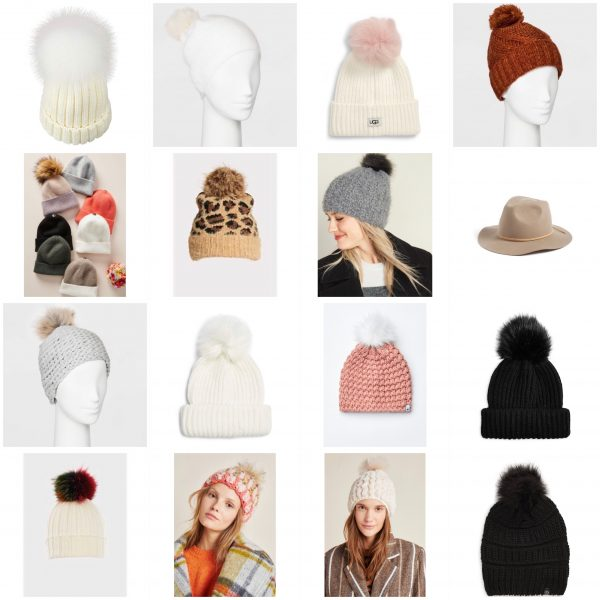 2019 womens winter hats beanies and pom pom hats from anthropologie express evereve cheetah print hat pink hat white hat black hat chenille hat