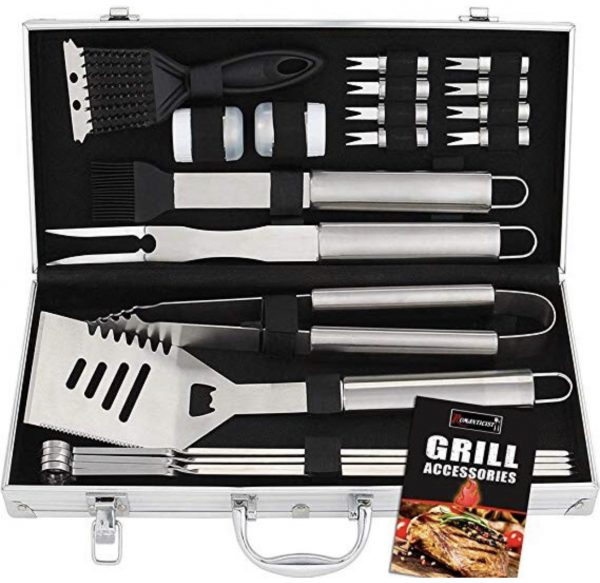 gift ideas for father in law grilling kit grilling tools