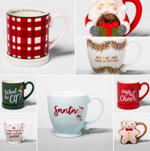 santa mug dont get your tinsel in a tangle gingerbread mug plaid mug its beginning to look a lot like coffee