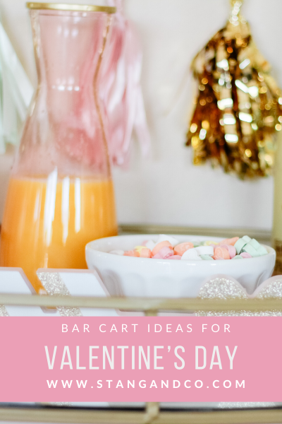 valentines day white latte boys cute valentines day bar cart