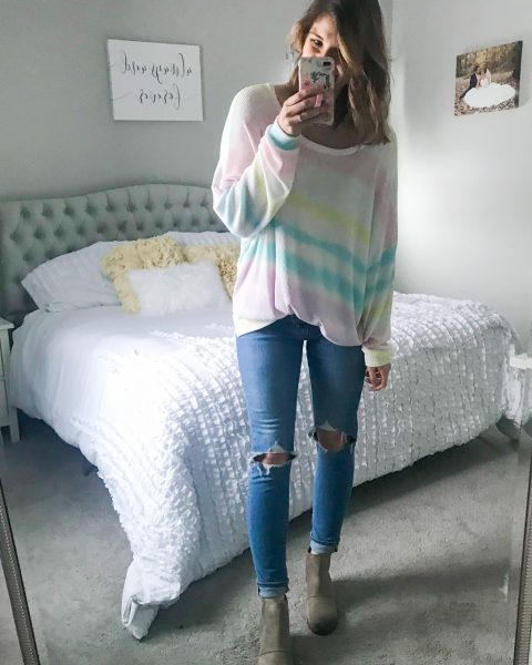 tie dye top gradient top ombre top cute spring tops spring break tops
