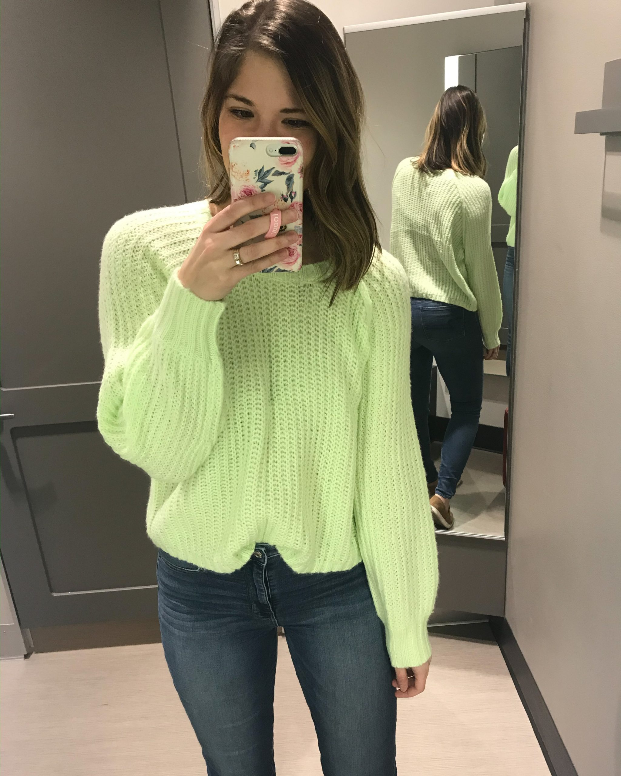 neon sweater spring trends for 2020 for women