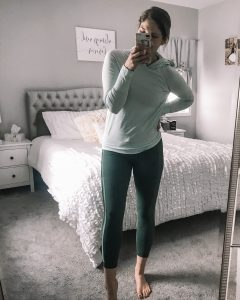 green athletic set fabletics set hooded athletic top mint green athletic top