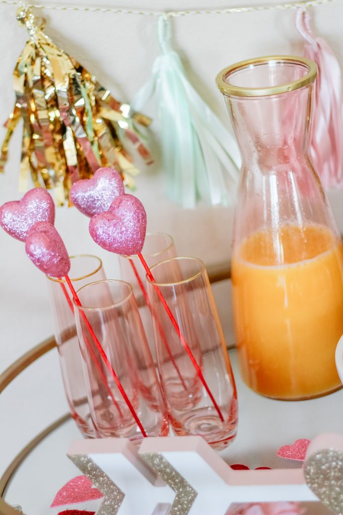 how to host a valentine's mimosa bar girls day idea v day breakfast bar