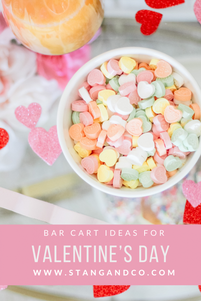 candy hearts in white bowl valentines day ideas hosting valentines brunch