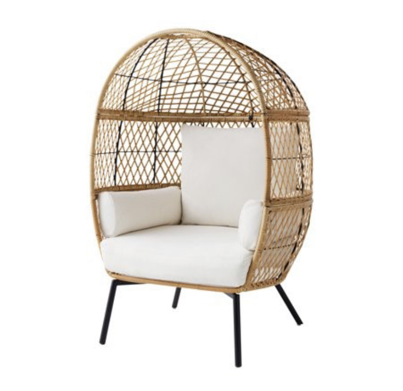 boho egg chair better homes and garden outdoor furniture walmart