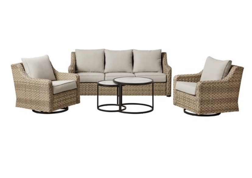 affordable outdoor furniture conversation furniture wicker outdoor furniture 5 piece set
