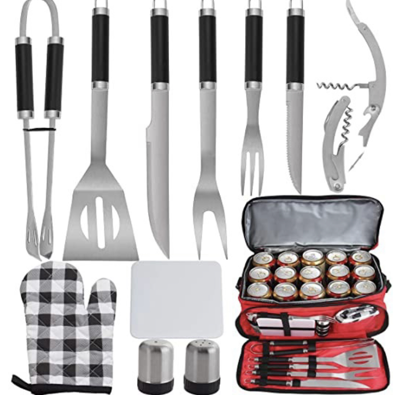 utensil kit for grilling or outdoor cooking