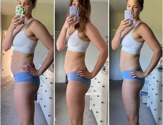 six week faster way to fat loss results-unedited photos at start week 3 and week 6