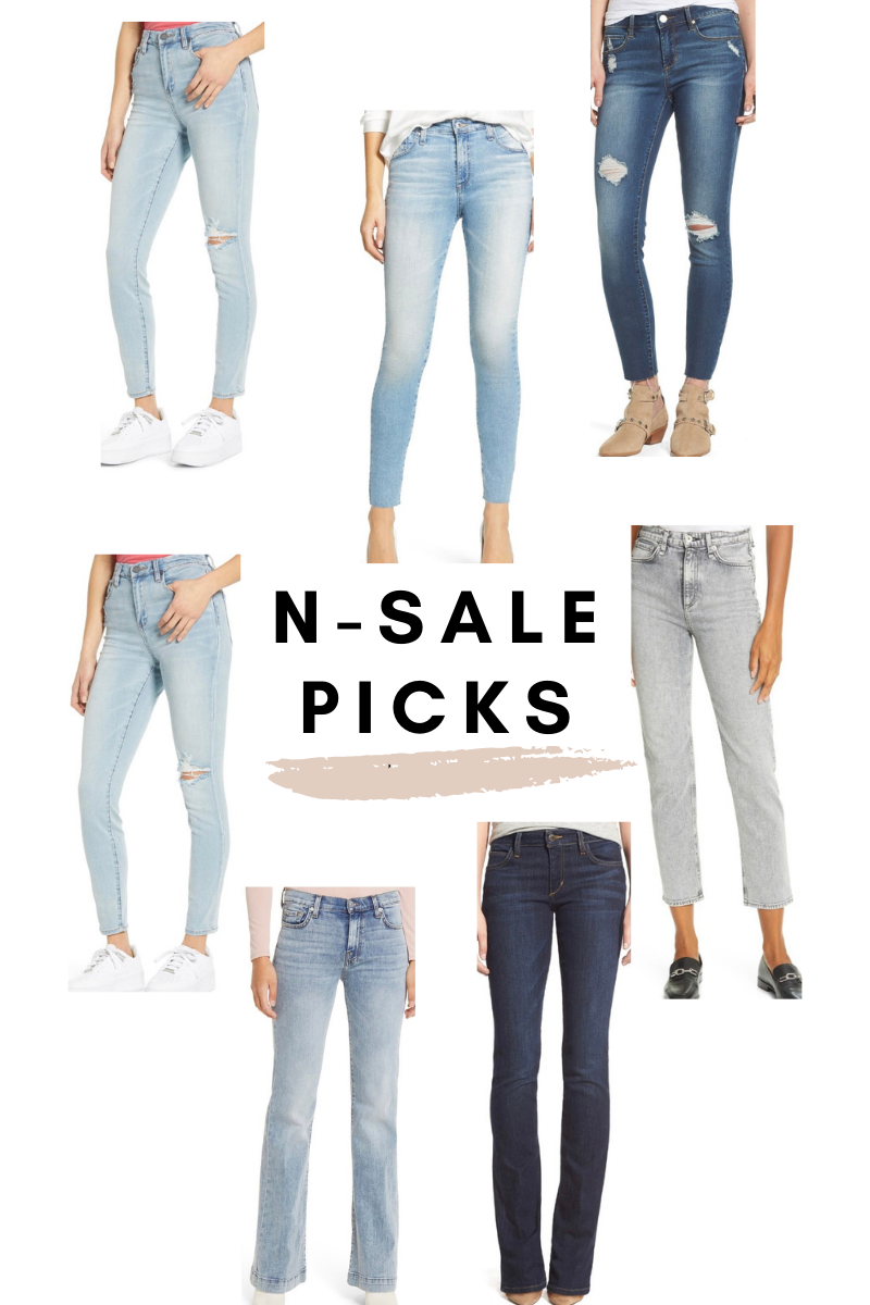 nordstrom anniversary picks light wash jeans