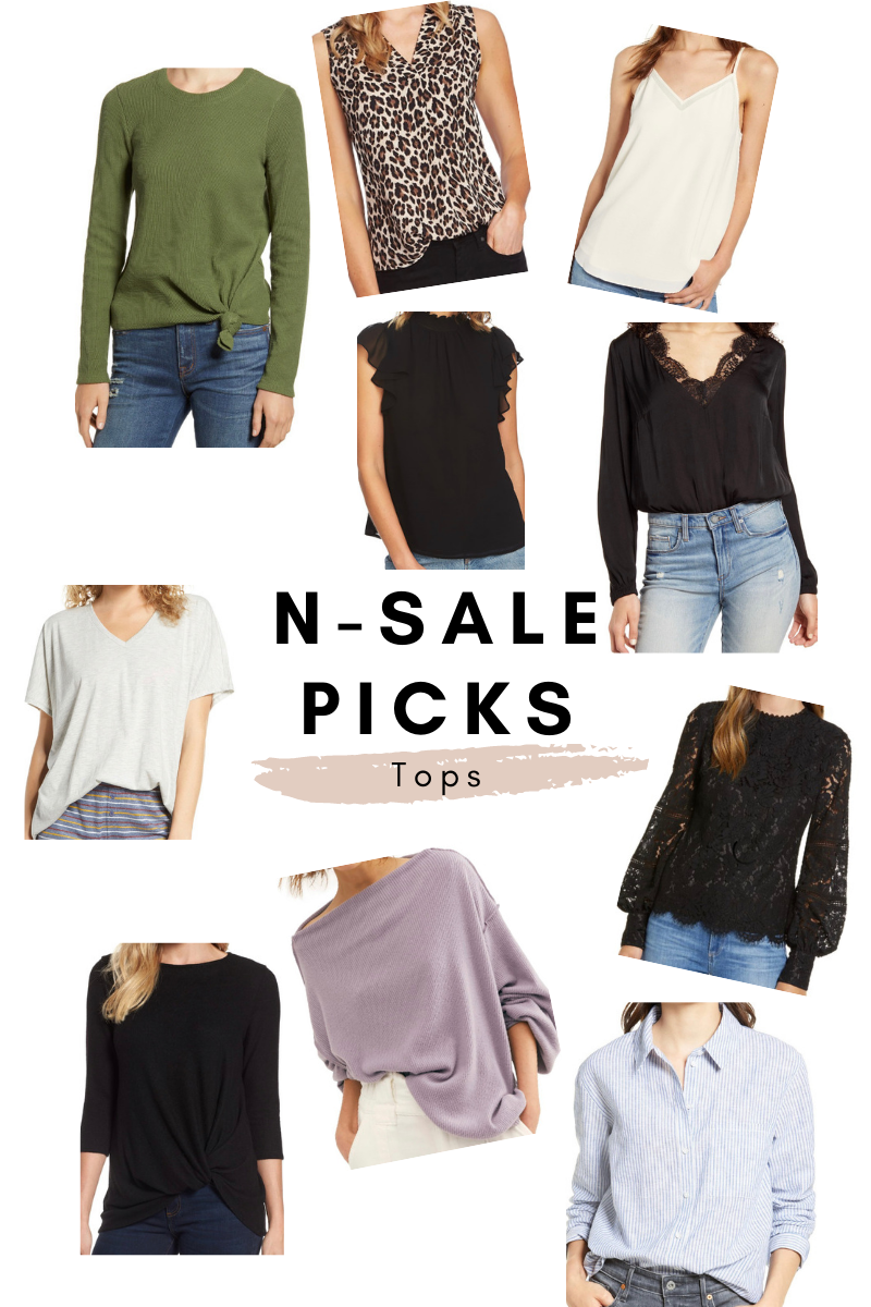 nordstrom anniversary picks blouses camis and tops