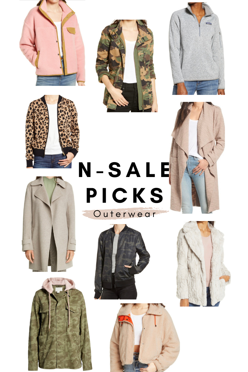 nordstrom anniversary picks outerwear bomber jackets trench coats patagonia