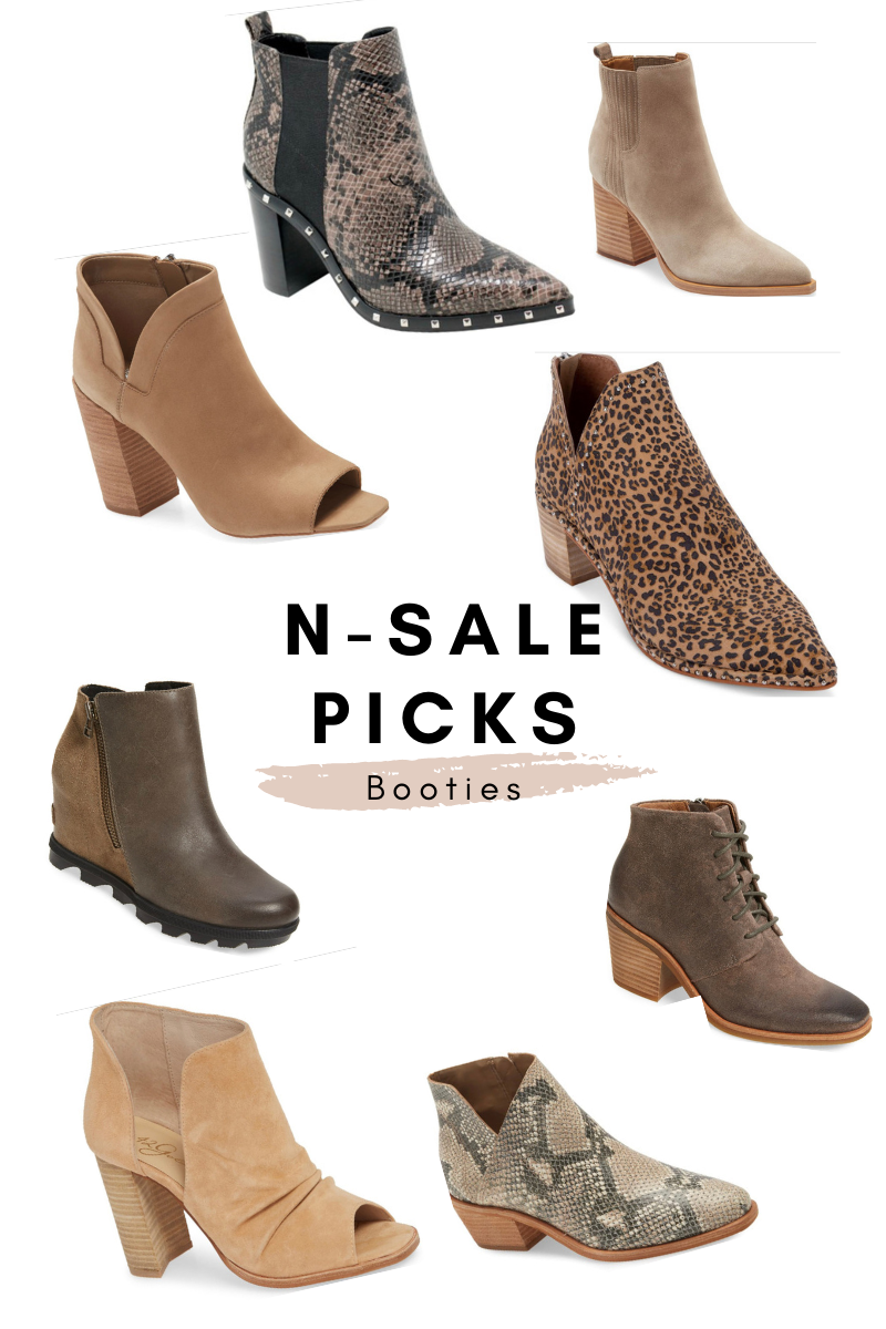 nordstrom anniversary picks booties