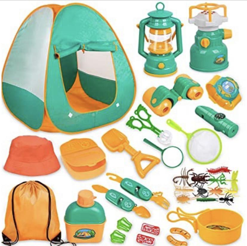 kids gift ideas / kids tent / outdoor activity set for kids