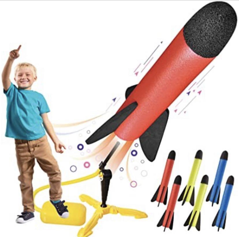 kids foot rocket / launch rocket / kids gift ideas