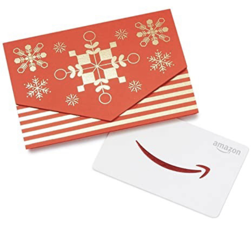 last minute gift ideas / amazon gift card / stocking stuffer ideas