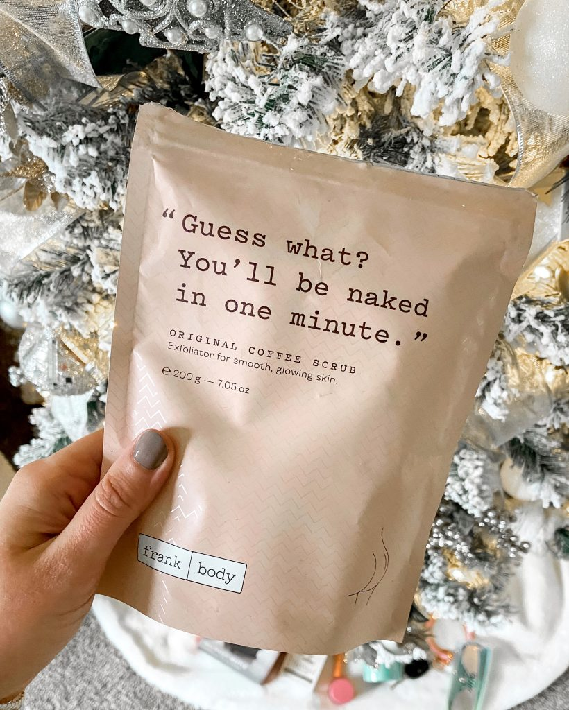 coffee scrub / gifts under $20 / gifts for her under $20