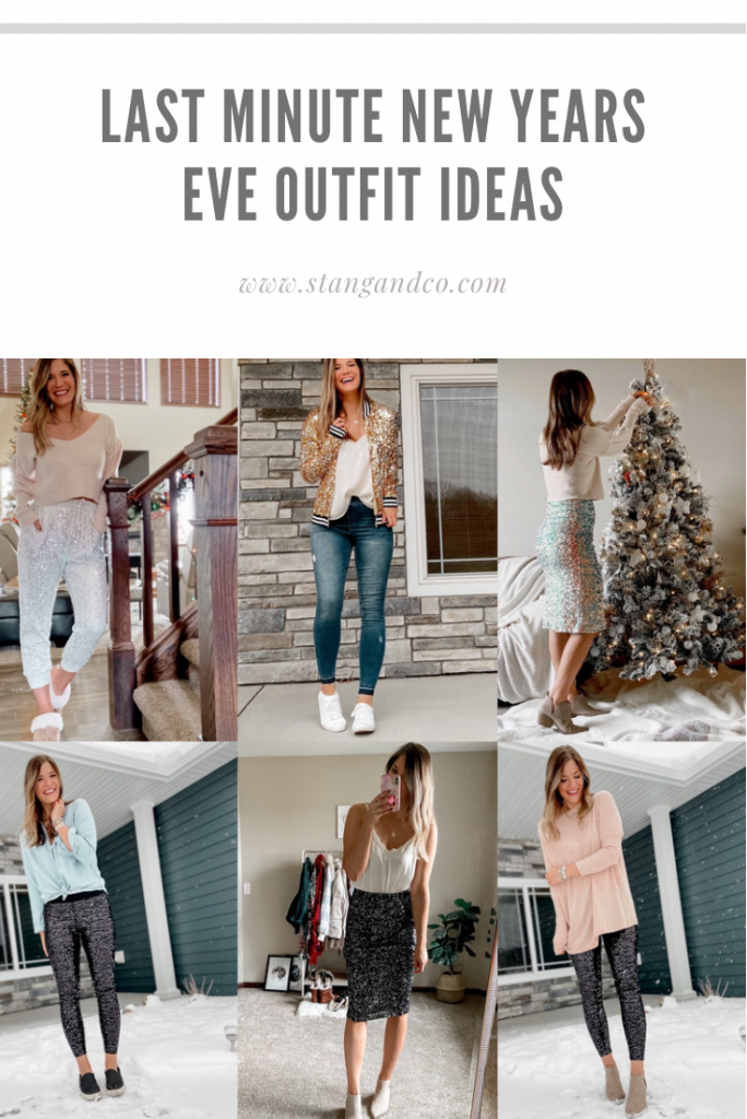 sequin outfits / sequin leggings / sequin joggers / sequin skirt / sequin jacket / sequin kimono / new years eve outfits / nye outfits