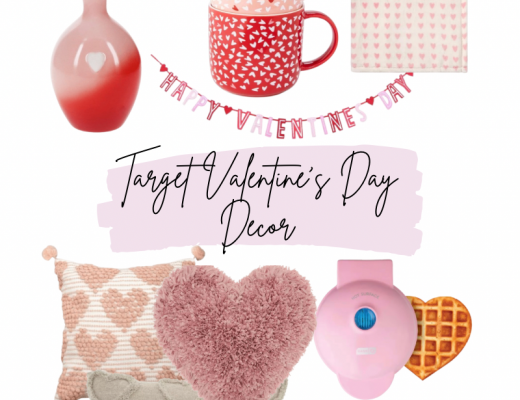 LOVE Sign / Vase // Happy Valentine's Day Banner / 2 Pack Mugs / White Blanket / Pink Blanket / Pink and White Heart Pillow / Fringe Heart Pillow / Tan Pillow / Waffle Maker / Newlyweds Mug / Love Banner