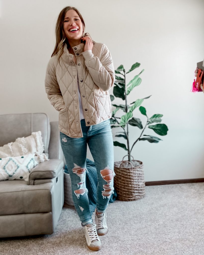 best spring jackets / quilted jacket / free people inspired quilted jacket / free people looks for less