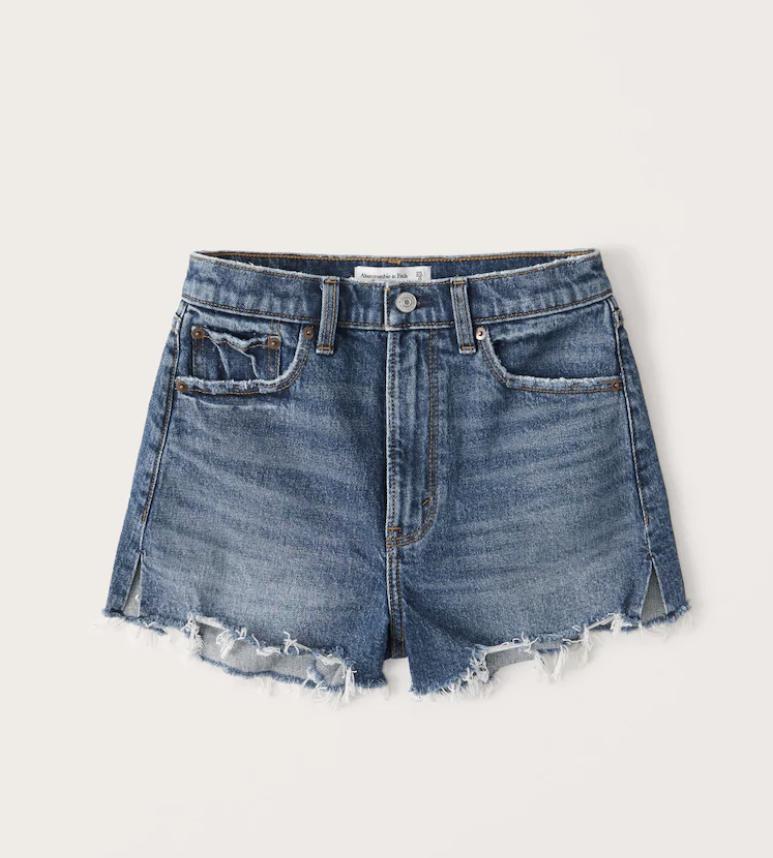 abercrombie mom shorts / jean shorts / mom shorts / denim shorts