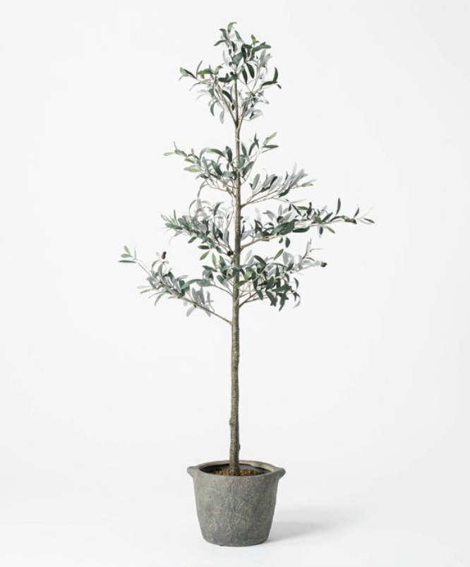75 inch faux olive tree / indoor tree / faux tree / target faux tree