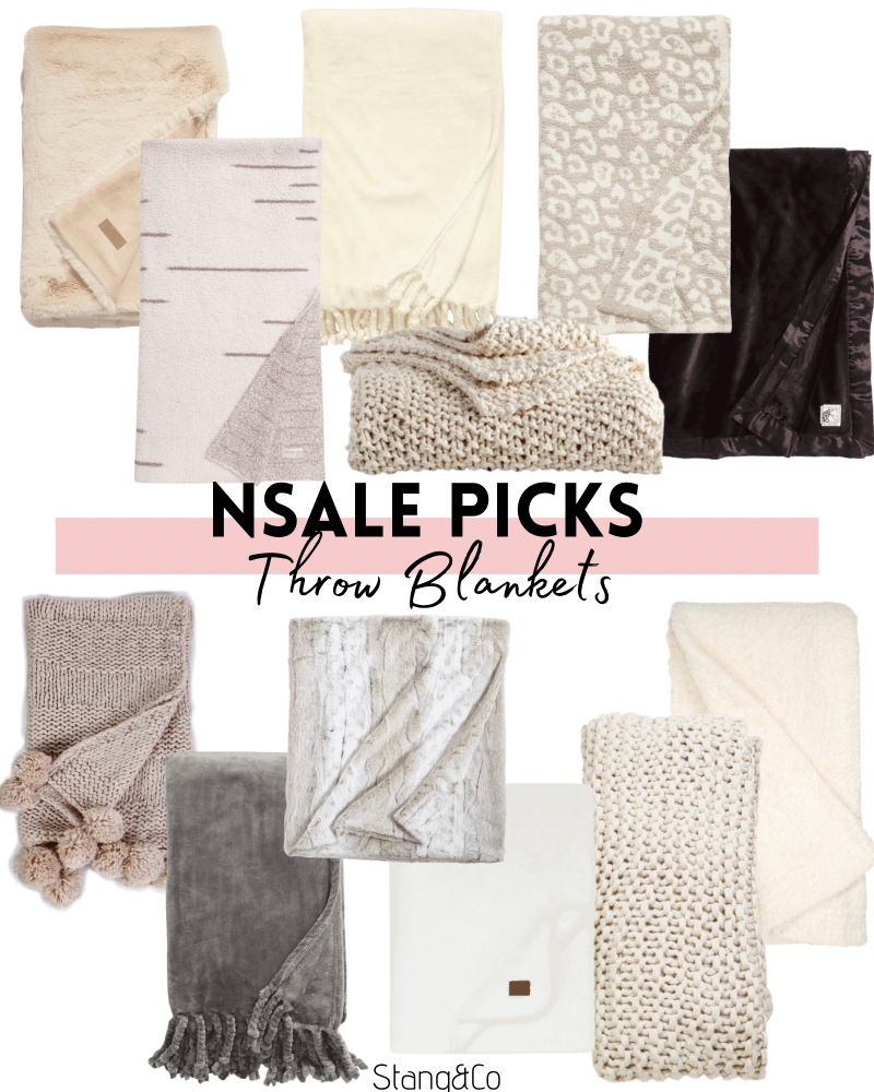 throw blankets from the nordstrom anniversary sale