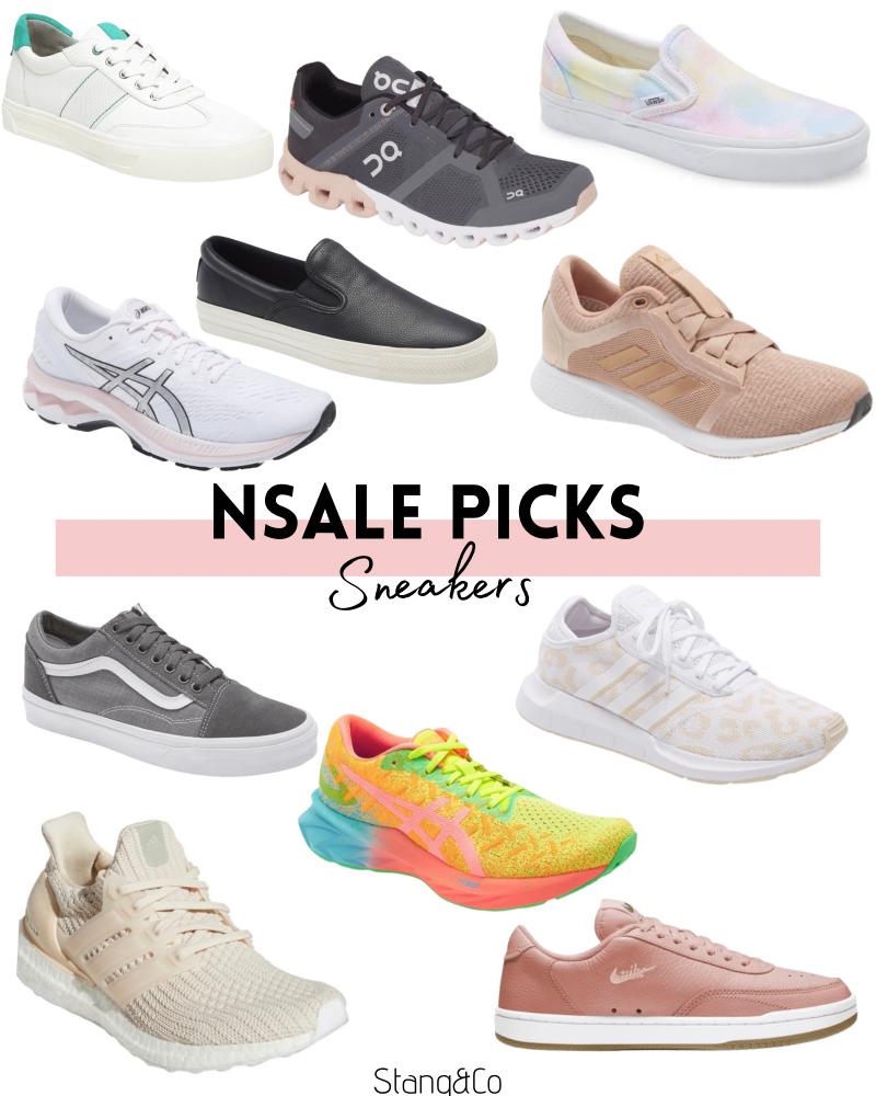 nordstrom anniversary sale sneakers and tennis shoes / tie dye vans / cheetah adidas