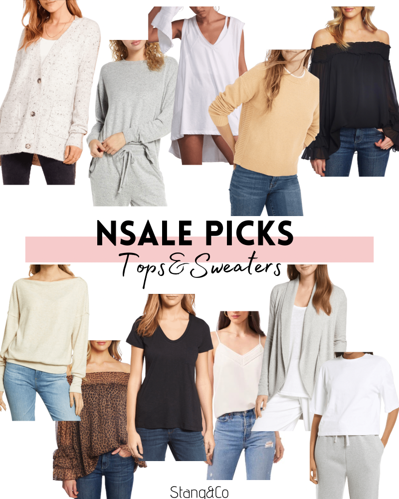 tops and sweaters from the nordstrom anniversary sale